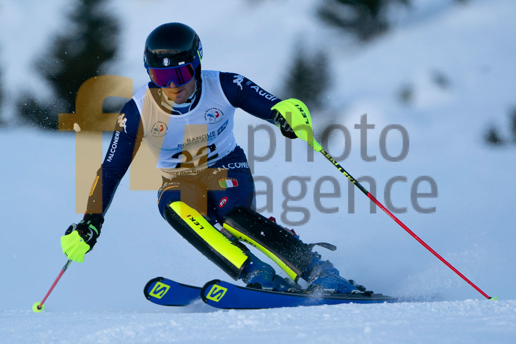 2019/20, European Cup, FIS, GORI Francesco (ITA), Men, SL, Season, Vaujany (FRA)