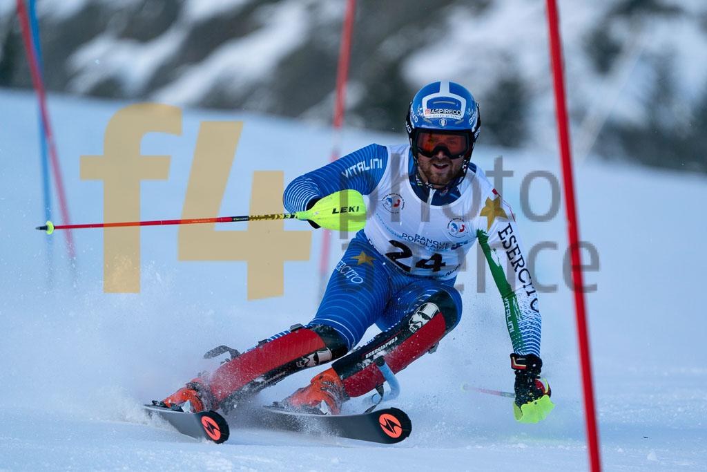2019/20, European Cup, FIS, MOSCHINI Lorenzo (ITA), Men, SL, Season, Vaujany (FRA)