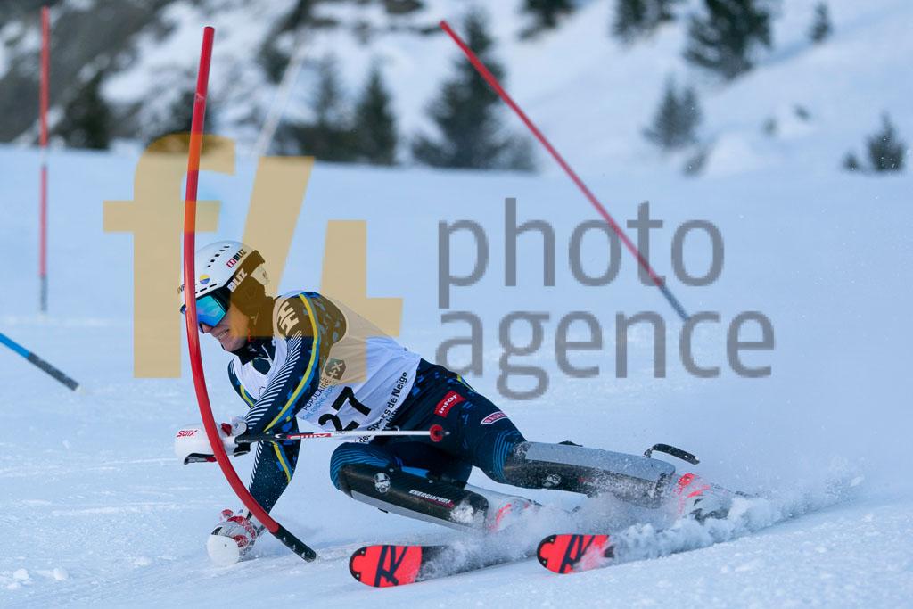 2019/20, European Cup, FIS, JONSSON Carl (SWE), Men, SL, Season, Vaujany (FRA)