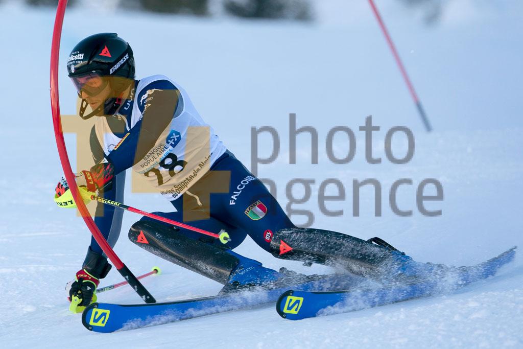 2019/20, CANZIO Pietro (ITA), European Cup, FIS, Men, SL, Season, Vaujany (FRA)