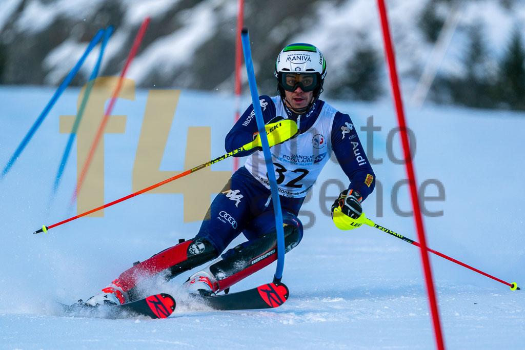 2019/20, European Cup, FIS, Men, SL, Season, Vaujany (FRA), ZINGERLE Hannes(ITA)