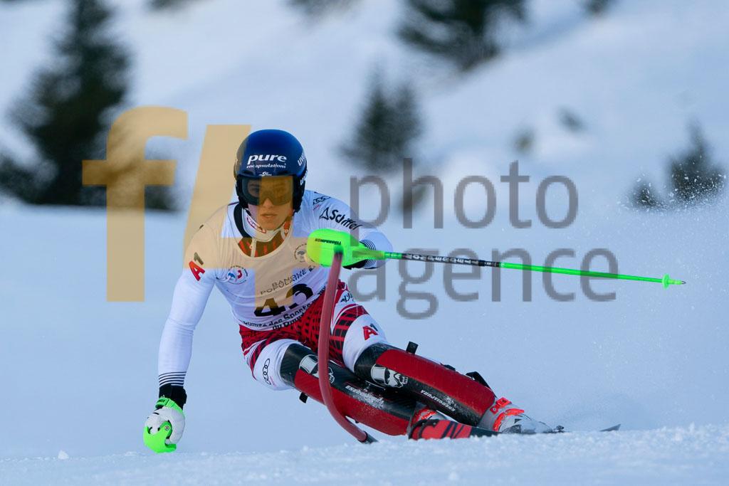 2019/20, DORNER Thomas (AUT), European Cup, FIS, Men, SL, Season, Vaujany (FRA)