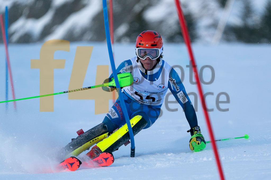 2019/20, European Cup, FAUSA Louis Gustav (NOR), FIS, Men, SL, Season, Vaujany (FRA)
