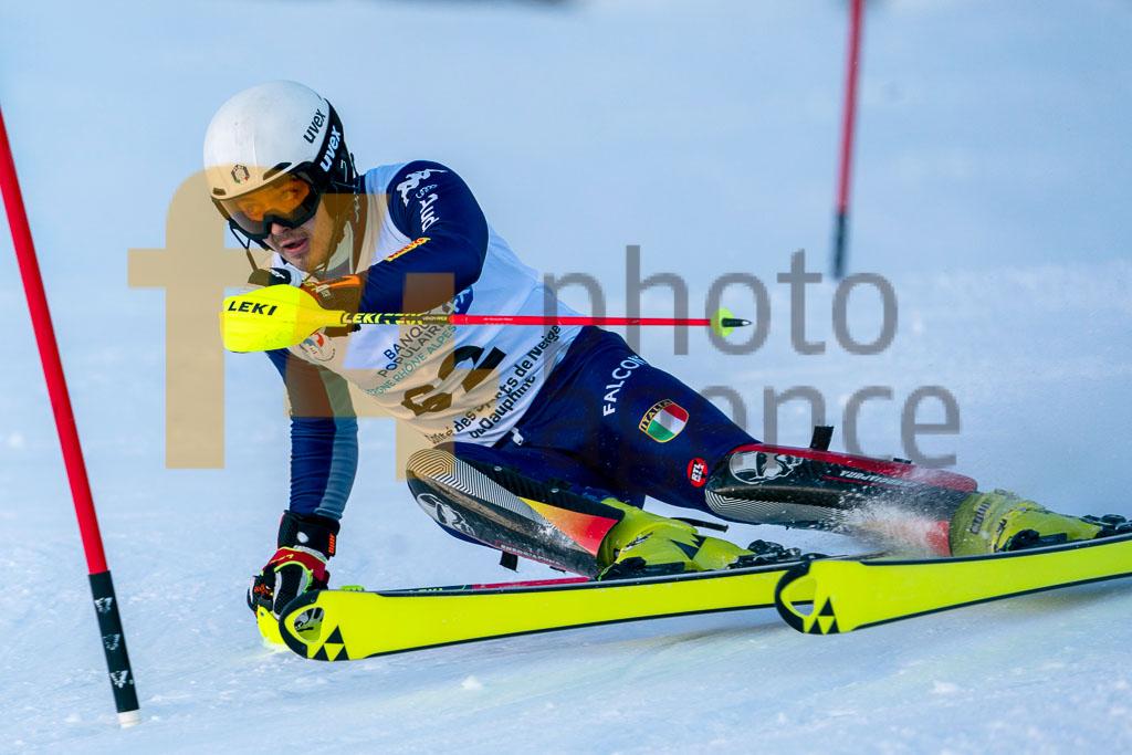 2019/20, European Cup, FIS, KASTLUNGER Tobias (ITA), Men, SL, Season, Vaujany (FRA)