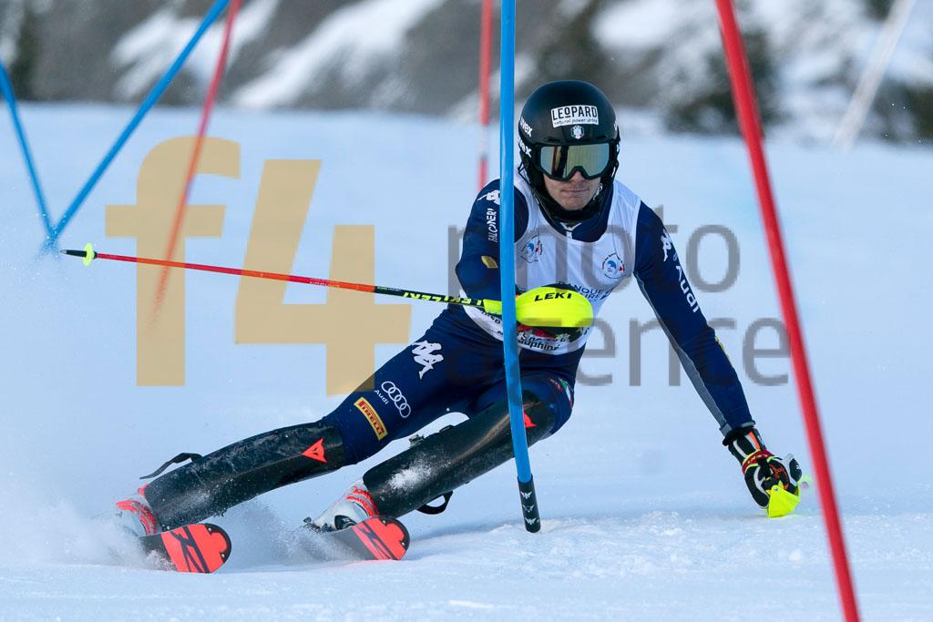 2019/20, CANINS Matteo (ITA), European Cup, FIS, Men, SL, Season, Vaujany (FRA)