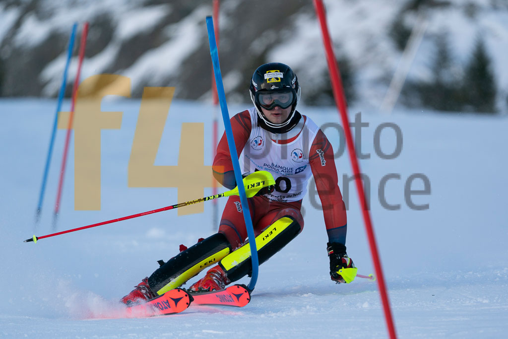 2019/20, European Cup, FIS, Men, SL, Season, Vaujany (FRA), ZIMMER Oscar (NOR)