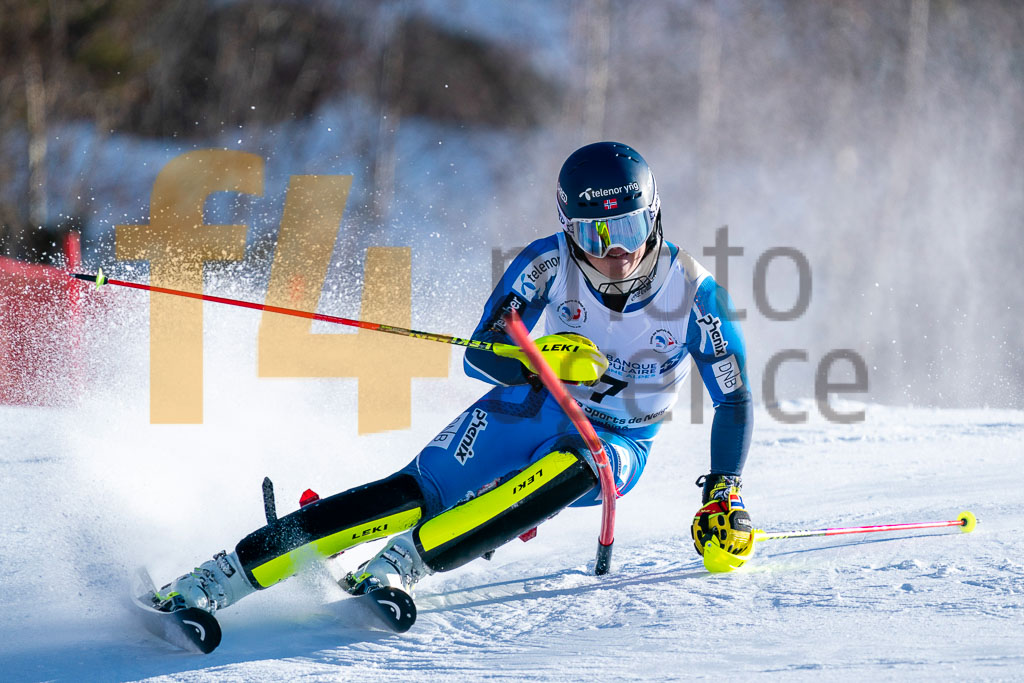 2019/20, European Cup, FIS, MCGRATH Atle Lie (NOR), Men, SL, Season, Vaujany (FRA)