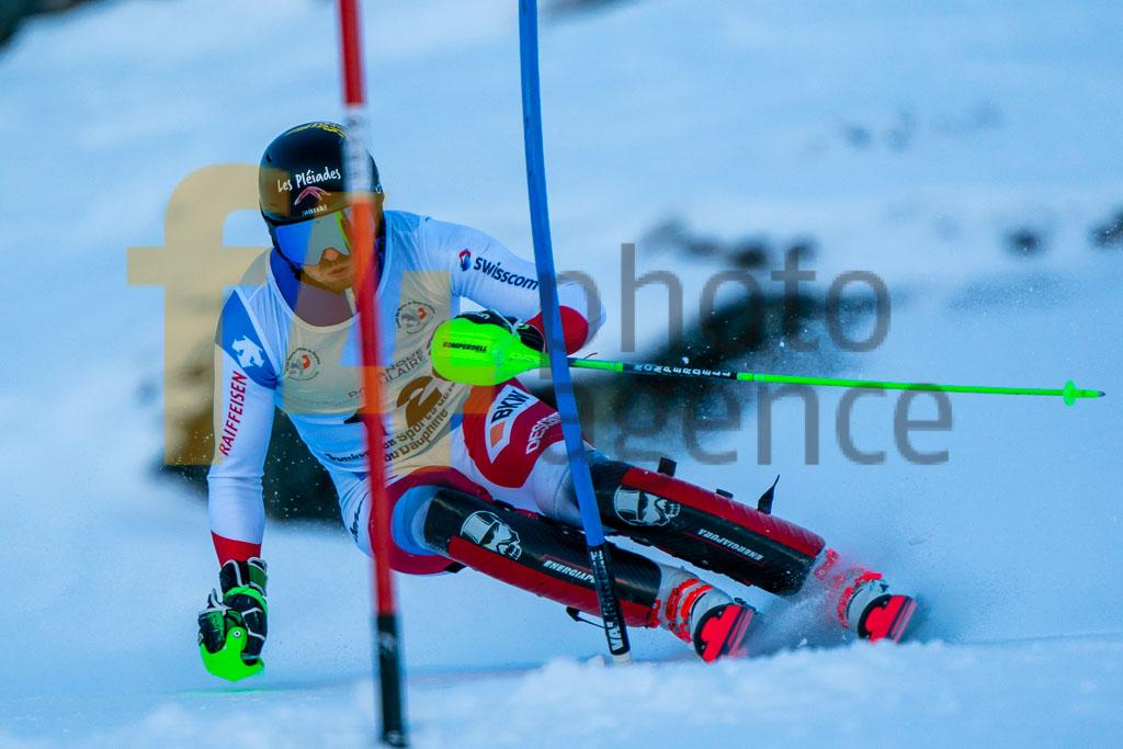 2019/20, European Cup, FIS, Men, REYMOND Marco (SUI), SL, Season, Vaujany (FRA)