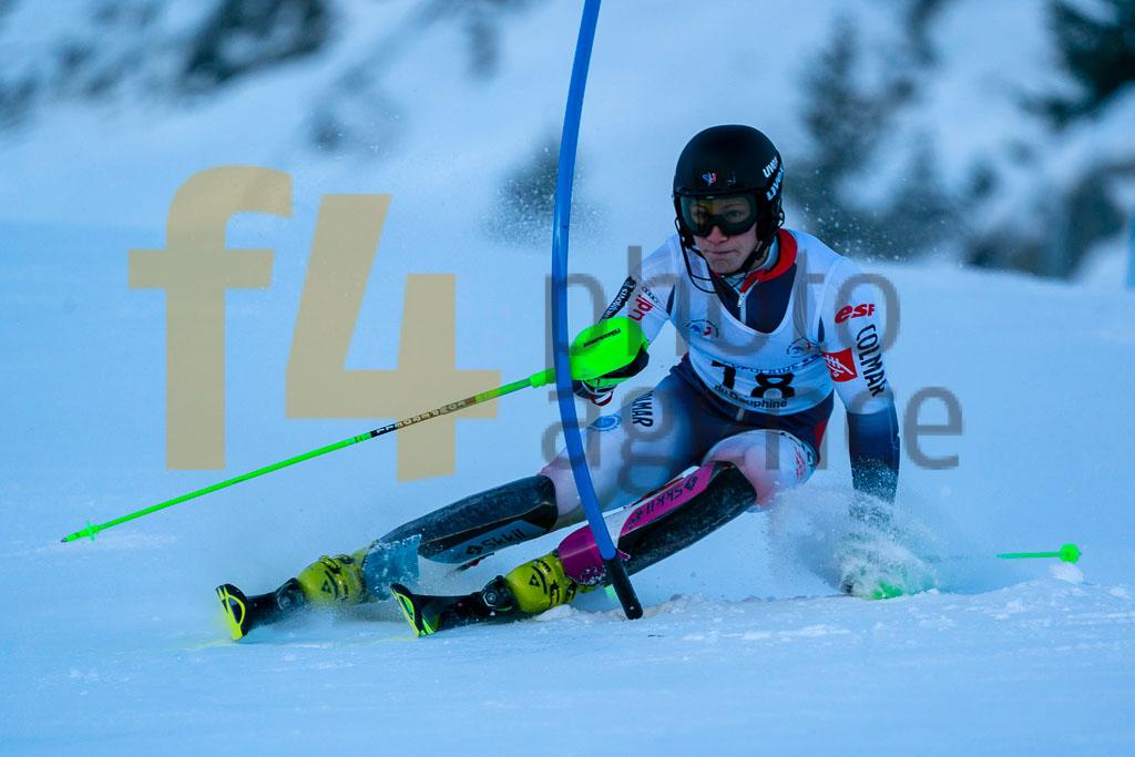 2019/20, AMIEZ Steven (FRA), European Cup, FIS, Men, SL, Season, Vaujany (FRA)