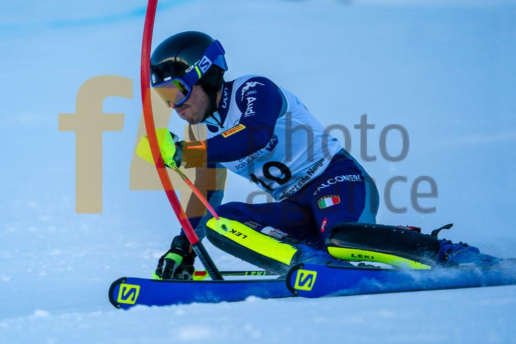 2019/20, European Cup, FIS, GORI Francesco (ITA), Men, SL, Season, Vaujany (FRA)