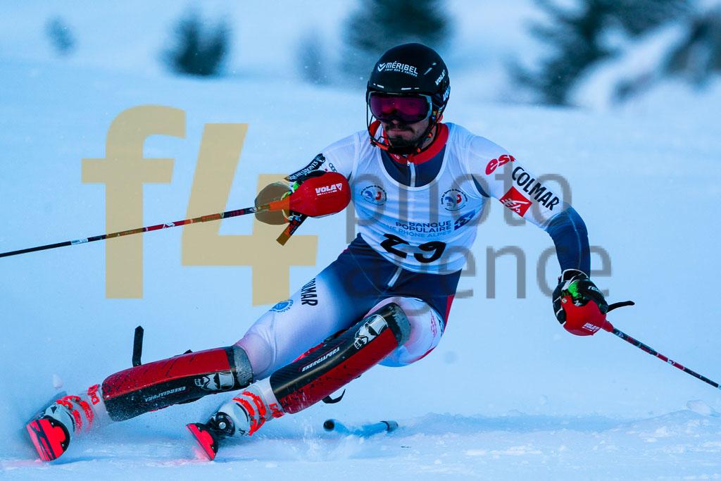 2019/20, BIANCHINI Agustin (FRA), European Cup, FIS, Men, SL, Season, Vaujany (FRA)
