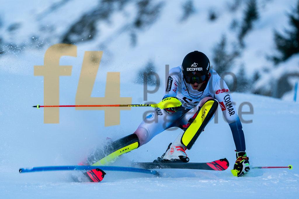 2019/20, European Cup, FIS, Men, PIOLAINE Simon  (FRA), SL, Season, Vaujany (FRA)