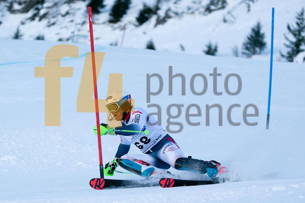 2019/20, European Cup, FIS, LORIOT Florian (FRA), Men, SL, Season, Vaujany (FRA)