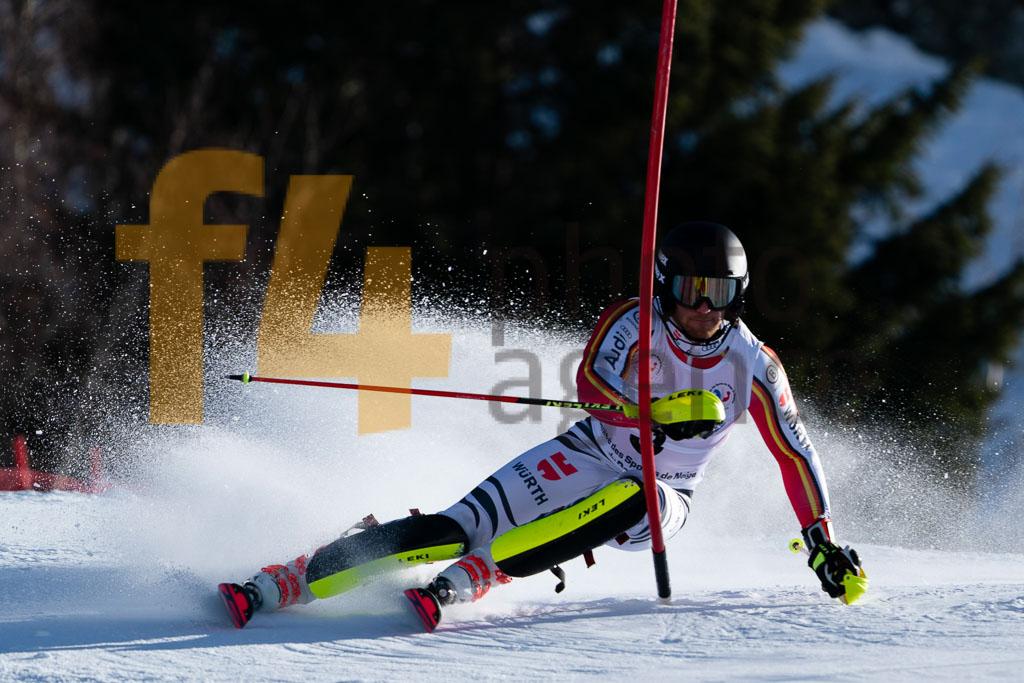 2019/20, European Cup, FIS, Men, RAUCHFUSS Julian  (GER), SL, Season, Vaujany (FRA)