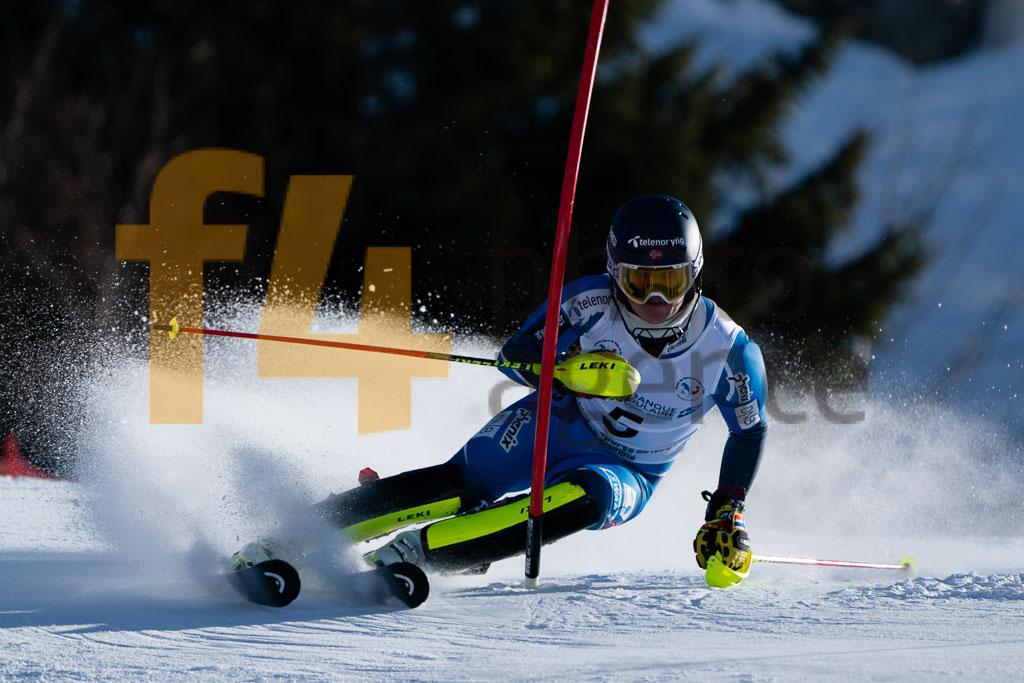 2019/20, European Cup, FIS, MCGRATH Atle Lie (NOR), Men, SL, Season, Vaujany (FRA)