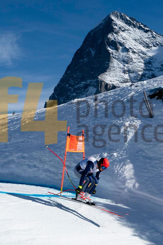 2019/20, DH TRA, European Cup, FIS, Men, SIMONI Federico (ITA), Season, Wengen (SUI)