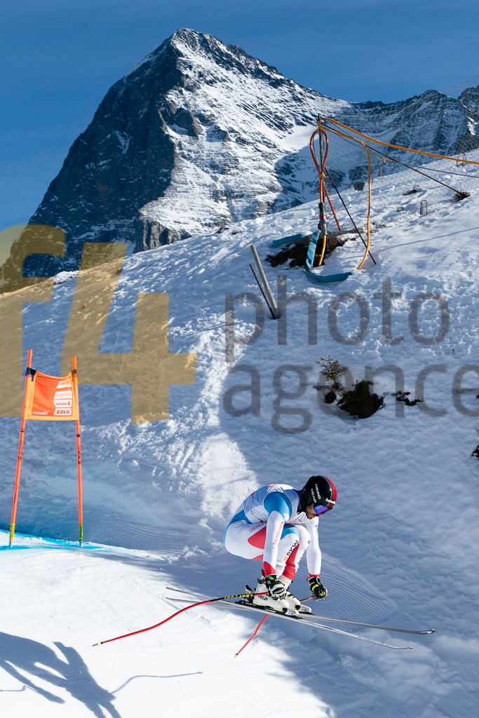 2019/20, DH TRA, European Cup, FIS, Men, ROULIN Gilles(SUI), Season, Wengen (SUI)