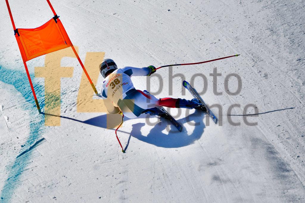 2019/20, DH TRA, European Cup, FIS, KLUFTS Evan (FRA), Men, Season, Wengen (SUI)