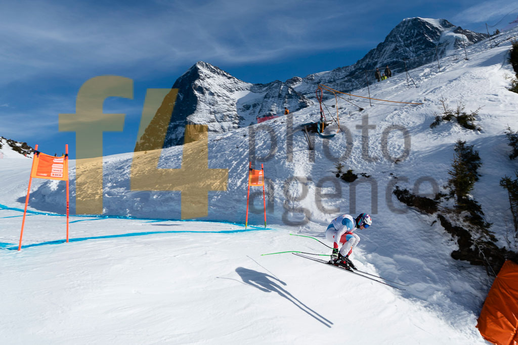 2019/20, CHABLOZ Yannick (SUI), DH TRA, European Cup, FIS, Men, Season, Wengen (SUI)