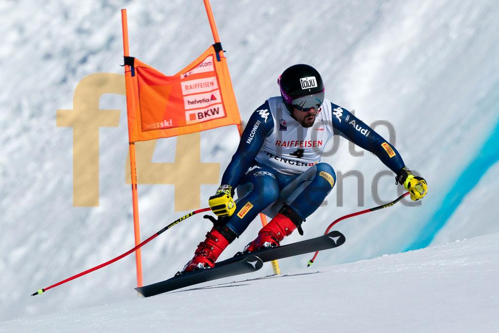 2019/20, BATTILANI Henri (ITA), DH TRA, European Cup, FIS, Men, Season, Wengen (SUI)